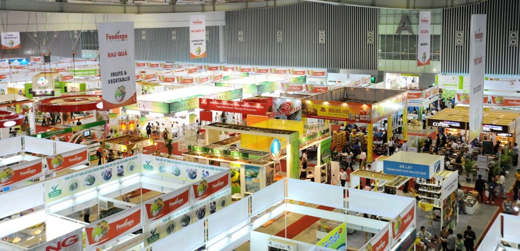 Vietnam trade shows; food, electronics, packaging, furniture and more